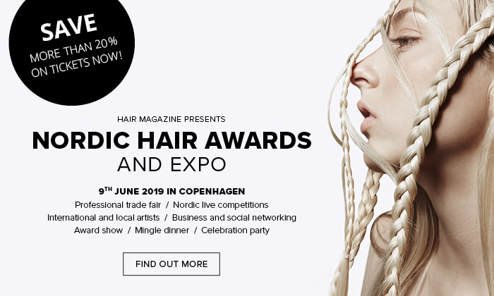 Nordic Hair Awards and Expo 2019 - The biggest Nordic event for hairdressers