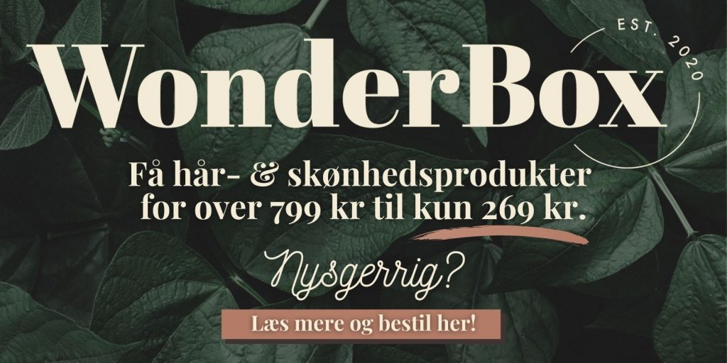 WonderBox - skønhedsabonnement