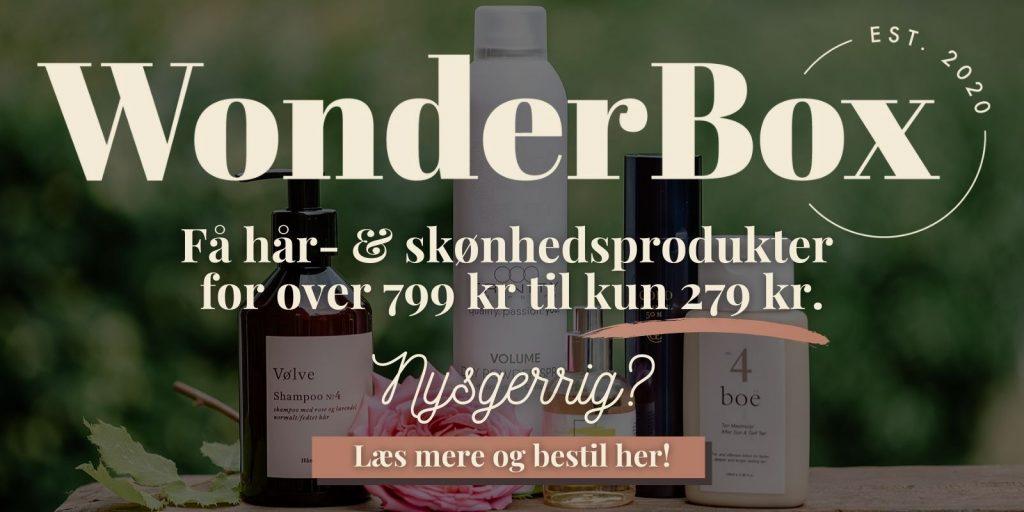 WonderBox - hår- og skønhedsprodukter